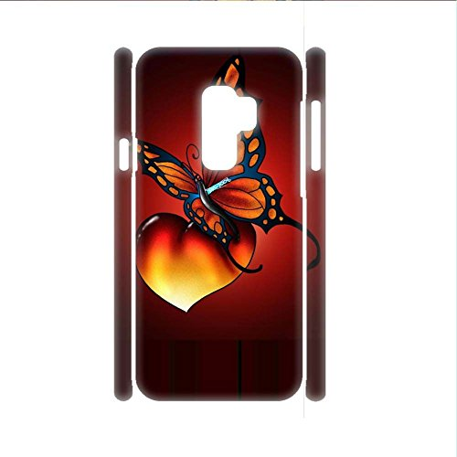 Von Cute Pics P (For Samsung S9 P Have Butterfly 2 Women Case Cute Rigid Plastic)