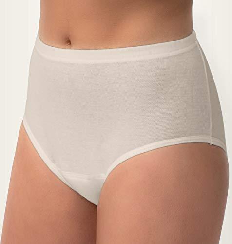 Carevitex 3130 Mauritius Damen Inkontinenz Hose Slip Farbe weiß, waschbar und trocknergeeignet -