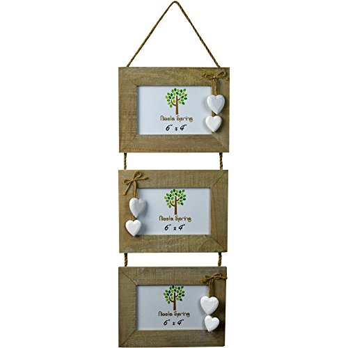 chic-shabby-rustic-wooden-triple-three-3-hanging-photo-frame-6x4-white-hearts
