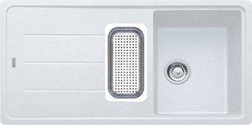 Franke Basis BFG 651 Glacier Fragranit Küchenspüle Weiß spülbecken Auflagespüle
