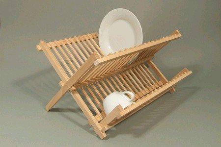 Plate Rack Drainer Beech Wood Standard Draining Board
