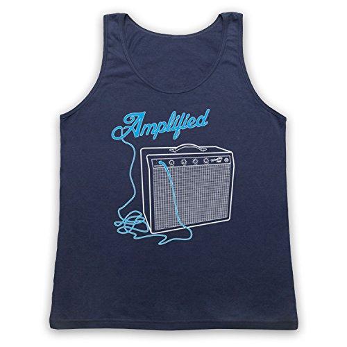 Amplified Amp Tank-Top Weste Ultramarinblau