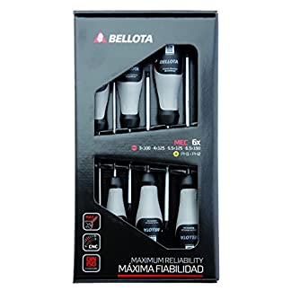 Bellota 66292-MEC – Destornilladores, Kit de 6 Destornilladores de mecánico