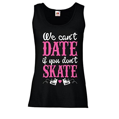 Top Kein Skate, Kein Datum - Coole Zitate Geschenk, Lustige Dating Zitate (X-Large Schwarz Mehrfarben) (Halloween Sprüche Oder Zitate Für Karten)