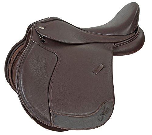 letek-allgemeine-zwecke-sattel-pferd-equestrian-reiten-tack-braun-braun-17
