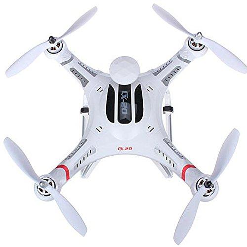 cxhobby cx-20RC Quadcopter auto- pathfinfer RTF Drone 6-axis GPS MX Klassiche System Hubschrauber für FPV UFO Flugzeug Spielzeug mit GoPro Kamera Mount–Weiß - 2