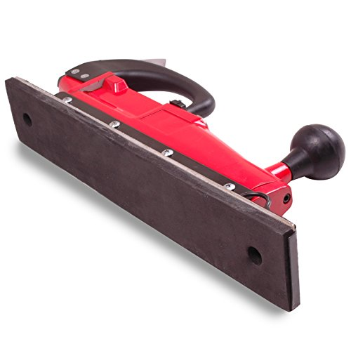 Twin Piston Straight Line Deluxe Aluminium Pneumatic Air Pad Power Sander Polisher Sanding Tool