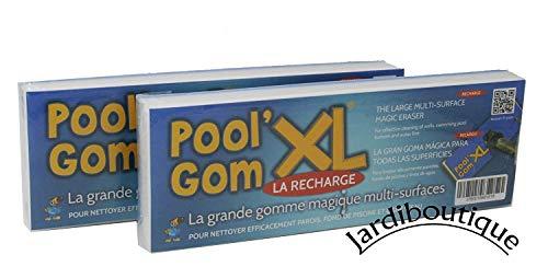 jardiboutique Schwamm-Set XL, Pool Gom, 2 Stk