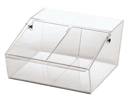 Contenitore Granelle 2 Vaschette Plexiglass