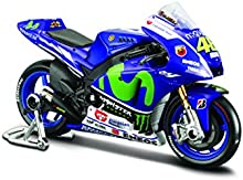 Yamaha Fábrica De Carreras #46 Valentino Rossi, GP 2015 Maisto Motorrad 1:18