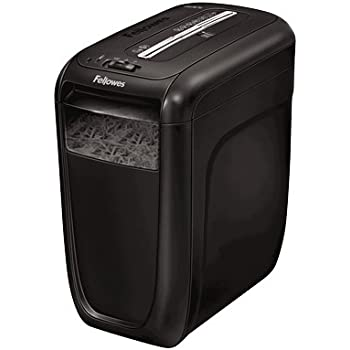 Fellowes Powershred 60Cs Destructeur de Documents 10 Feuilles Coupe Croisée - Technologie SafeSense