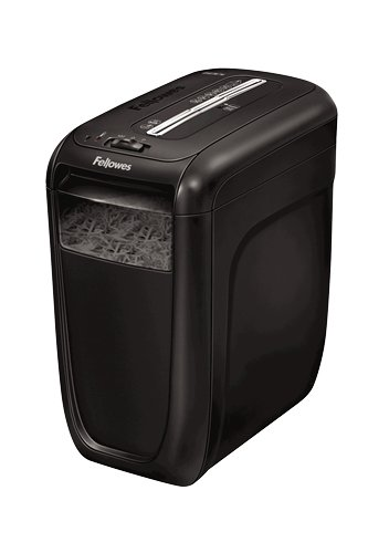 Fellowes Powershred 60Cs Cross Cut Aktenvernichter, 10 Blatt, 1 Nutzer Zuhause oder Home Office, patentierte SafeSense Technologie