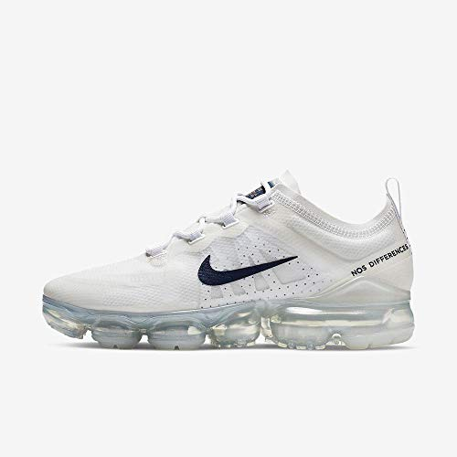 1a5ac1aa3ec13 Nike Wmns Air Vapormax 2019, Zapatillas de Atletismo para Mujer,  (White/Midnight Navy/Mtlc Red Bronze 100), 36.5 EU
