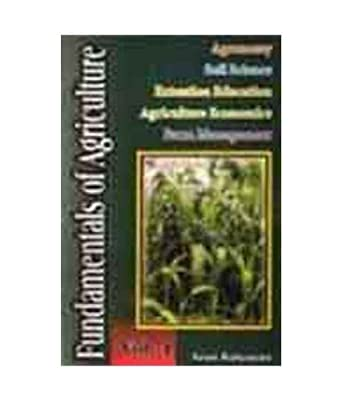 Fundamental Of Agriculture Vol. 1