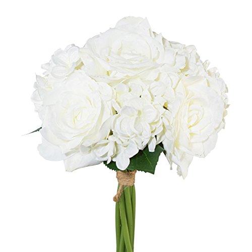 Kunstpflanze »Rosenbouquet«, H