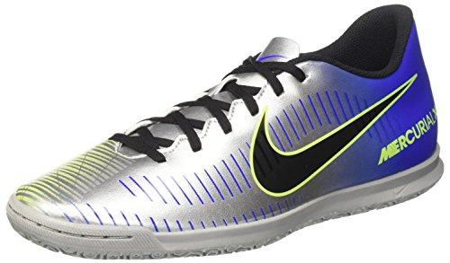 Nike Mercurialx Vortex III NJR IC, Zapatillas de Fútbol para Hombre, (Racer Blue/Black-Chrome Volt 407), 44 EU