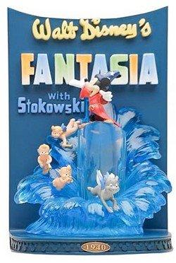 Disney Showcase Collection Statuette Résine Poster 3D Fantasia 26 cm