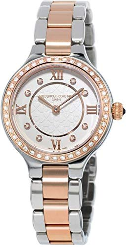 Frederique Constant Geneve Delight FC-200WHD1ERD32B Reloj de Pulsera para mujeres con diamantes genuinos
