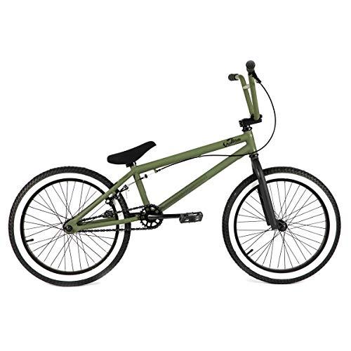 Venom Bikes 20 inch BMX - Army Green