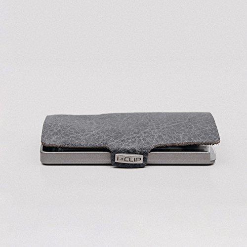 I-Clip Slim Credit Card wallet vintage – Opal (Grey)
