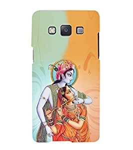 iFasho Lord Krishna and Meera Back Case Cover for Samsung Galaxy A5