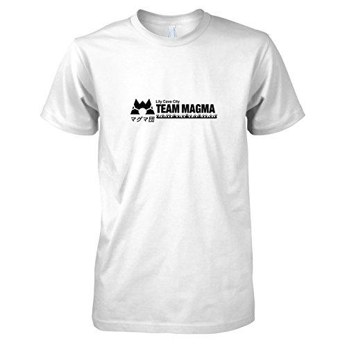 TEXLAB - Team Magma - Herren T-Shirt Weiß