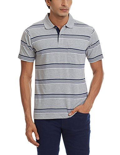 Proline Men's Polo (8907007242018_PC10056C_Small_Grey Marl)  available at amazon for Rs.339