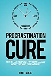 Procrastination Cure: Stop Finding Excuses and Get What You Want in Life (English Edition)