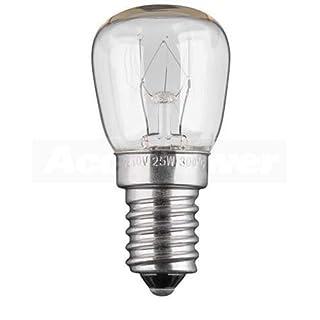 Backofenlampe E14, 25 Watt temperaturfest bis 300°C