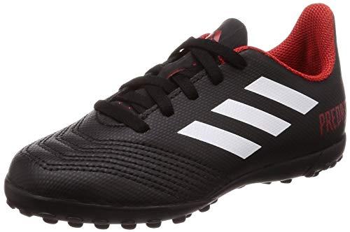 adidas Unisex-Kinder Predator Tango 18.4 Tf J Fußballschuhe, Schwarz (Negbás/Ftwbla/Rojo 001), 33 EU