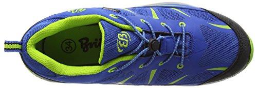 Bruetting Range Jungen Trekking- & Wanderhalbschuhe Blau (royalblau/lemon)
