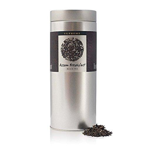 The Exotic Teapot - Supreme Assam Tea, 150g Tin, Loose Leaf Breakfast Black Tea