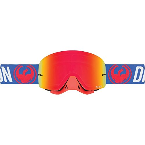 Red Dragon NFX MX, blau Motocross Goggles