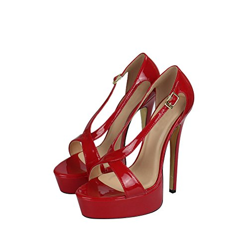 fereshte - Peep-Toe donna Red