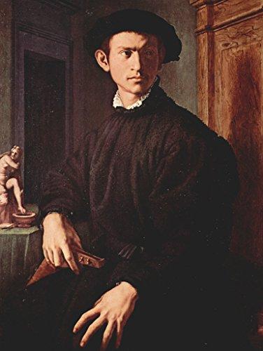 Lais Puzzle Angelo Bronzino - Porträt eines jungen Mannes mit Laute 1000 Teile