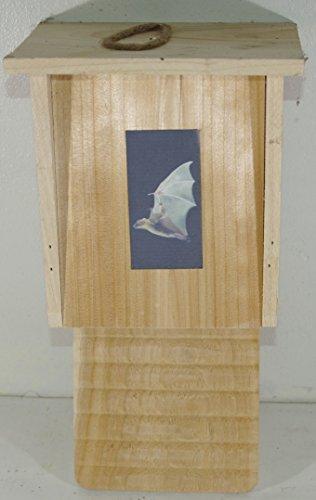 Haus für Fledermäuse in Holz