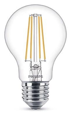 Philips LEDclassic Lampe ersetzt E27, warmweiß (2700 Kelvin), 806 Lumen