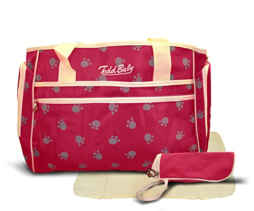 todd-baby-official-brand-new-3-pc-paw-red-quilted-bottle-holder-set-diaper-nappy-changing-stylish-de