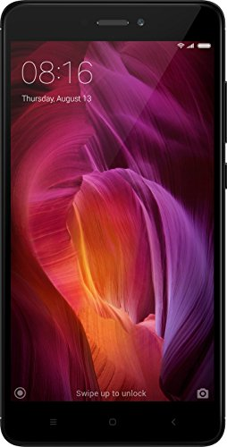 Redmi Note 4 Dual Sim Android Smartphone With 13MP Camera, Black (4GB, 64GB)