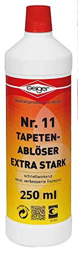 Geiger Chemie Nr. 11 Tapetenablöser extra stark 250ml Flasche