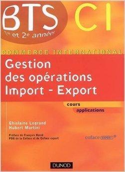 BTS Commerce International - Manuel de Ghislaine Legrand,Hubert Martini ( 27 août 2008 )