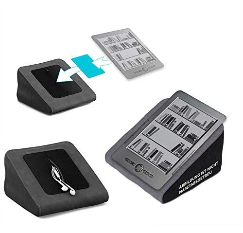 reboon Tablet Kissen für das Blaupunkt Livro - ideale iPad Halterung, Tablet Halter, eBook-Reader Halter für Bett & Couch