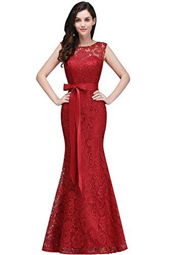 Elegant Damen Meerjungfrau Etui Kleid Lang Ärmellos Abendkleid Ballkleid Geburtstageskleid...