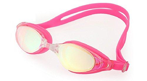 Schwimmen Schutzbrillen, Embryform Clear Schwimmen Schutzbrillen Keine Leaking Anti Fog UV Schutz Triathlon Schwimmbrille mit freiem Schutz Fall für Erwachsene Männer Frauen Jugend Kinder Kind, YG10J5