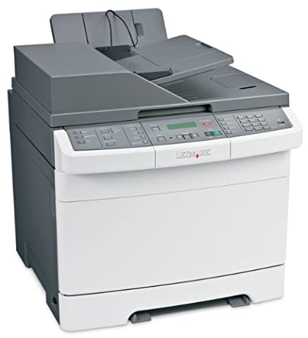 Lexmark X544N Multifunktions-Farblaserdrucker mit Faxfunktion
