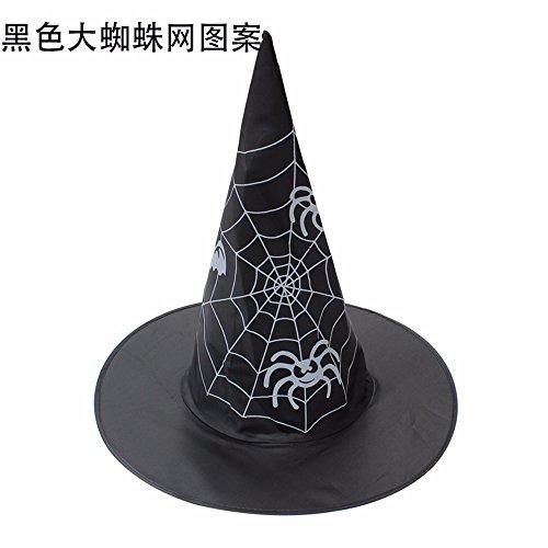 Yxlmz* halloween strega cappelli, oggetti di scena, masquerade, cosplay strega cappello, cappello magico,a2