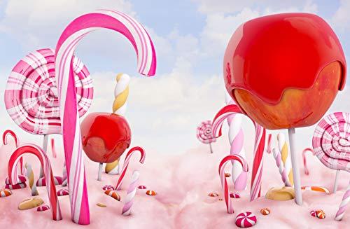 ntergrund für Geburtstag Kuchen Smash Candy Party Love Baby Foto Hintergründen Cartoon Märchen Fotografie Hintergrund ()