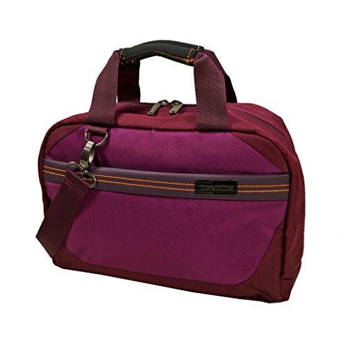 Travelite Beautybag Meteor in berry Vanity, 33 cm, 11 liters, Rouge (Berry)