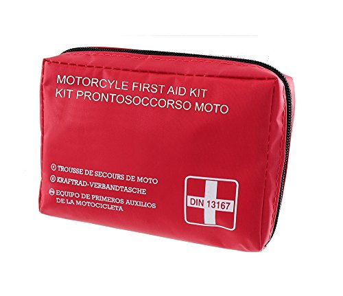 RMS Kit pronto soccorso moto DIN13167-2014 (Sicurezza) / First aid kit motorcyle DIN13167-2014 (Safety)