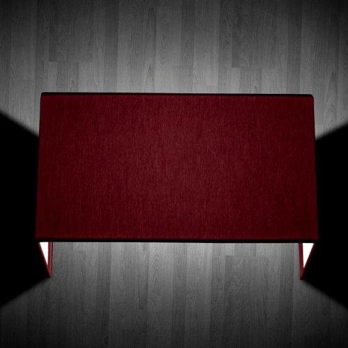 Square W 1 luce Bordeaux - Applique moderna - OLUX